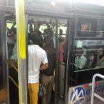 El Metropolitano: Caos y confusión en estación Angamos por nuevos servicios (FOTOS)