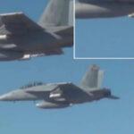 EEUU: Aviones caza podrán lanzar ataques con enjambre de drones (VIDEO)