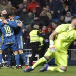 Copa del Rey: Celta de Vigo en cuartos de final derrota 2-1 al Real Madrid