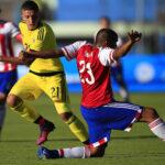 Sudamericano Sub-20: En partido inaugural empatan 1-1Colombia y Paraguay