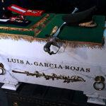 Héroe del Cenepa, Luis A. García Rojas, descansa en Cripta de los Héroes