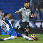 Liga Santander: Espanyol y Deportivo en vibrante 2° tiempo empatan 1-1