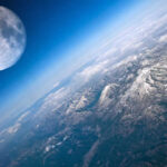 La Luna desde hace millones de años recibe oxígeno de la Tierra