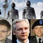 París homenajea con arte a Manning, Assange, Snwoden y otros informadores