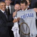 Obamarecibe abeisbolistas campeones y reitera importancia del deporte