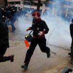 EEUU: Más de cien detenidos en protestas contra asunción de Trump  (VIDEO)