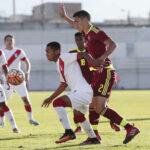 Sudamericano Sub-20: Perú y Venezuela empatan 1-1en el Grupo B