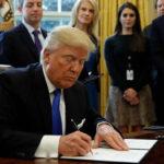 EEUU: Trump firmó el decreto para construir muro fronterizo con México