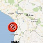 Sismo de 5.8 grados sacude cuatro regiones del norte de Chile