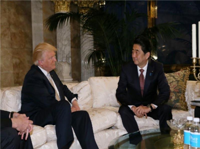 Trump reafirma el compromiso de EU con la seguridad de Japón