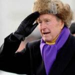 George H.W. Bush a Trump: Si voy a tu investidura, podría terminar enterrado