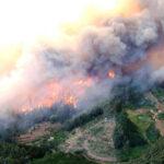 Chile: Alerta roja por nuevos incendios forestales en dos comunas