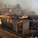 Incendio Valparaíso: 120 Viviendas quemadas, 19 heridos y 400 evacuados