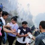 Chile: Ordenan evacuar alrededores de Concepción por avance del fuego