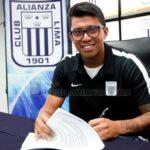 Rinaldo Cruzado firma por Alianza Lima para todo el 2017