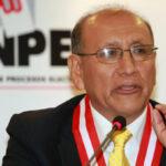 CNM no ratificó a Mariano Cucho como jefe de la ONPE por deficiencias