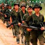 Guerrilleros de las FARC y disidentes se enfrentan a balazos y deja 2 muertos