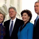 EEUU: Los Clinton y George W. Bush asistirán a la investidura de Trump