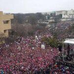 """EEUU: Cientos de miles de personas en la """"Marcha de las Mujeres"""" contra Trump"""
