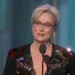 Globos de Oro: Meryl Streep firme defensora de los extranjeros y la libertad
