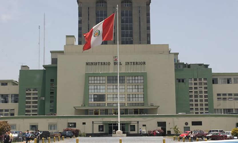 Mininter extranjeros expulsados no podr n reingresar en for Ministerio del interior ubicacion mapa