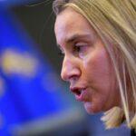 """UE: Mogherini pide a EEUU abstenerse de """"acciones unilaterales"""" sobre Jerusalén"""