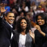 Constelación de estrellas en la despedida de Obama de la Casa Blanca