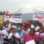 Lima Este: Exigen retiro del peaje ubicado en La Molina