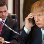 Donald Trump y Peña Nieto hablaron por teléfono hoy durante una hora