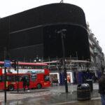 Piccadilly apaga sus anuncios por primera vez desde la II Guerra Mundial