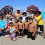 Playas: Orientan a veraneantes sobre conductas saludables