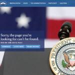 Casa Blanca: Portal web en construcción ante ausencia de versión en español