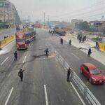 Puente Piedra: Policía orienta a choferes que se trasladan al norte de Lima
