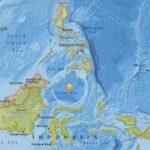Seísmo de magnitud 7.2 sacude mar de Célebes, entre Indonesia y Filipinas