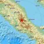 Tres seísmos de una magnitud de hasta 5.5 sacuden centro de Italia