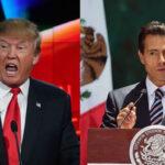 Peña Nieto a Donald Trump: México, por supuesto, no pagará el muro
