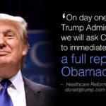 EEUU: Desde el 20 Donald Trump desmantelará reforma sanitaria de Obama