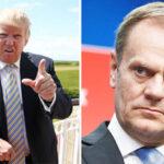 Presidente del Consejo Europeo califica gestión de Trump como amenaza a UE