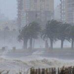 Uruguay emite alerta naranja en todo el país por fuertes tormentas