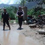 Yungay: Activación de dos quebradas daña 140 viviendas