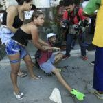 Brasil: Fotógrafo fue tiroteado en refriega entre policías y drogadictos