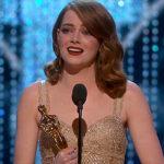 """Emma Stone es la ganadora del Óscar a la mejor actriz por """"La La Land"""""""