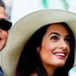 George Clooney y su esposa Amal serán padres de gemelos en junio