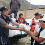 Yungay: Más de 100 damnificados y 90% de cultivos perdidos deja huaico