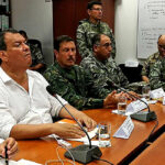 Ministro de Defensa supervisa atención de damnificados por intensas lluvias