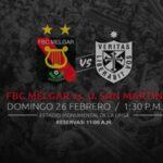 Torneo de Verano: Mañana se juega el partido Melgar-San Martín