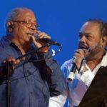 Pablo Milanés y Pancho Céspedescantan en dúo en concierto deMarbella