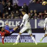 Liga Santander: Real Madrid logra ajustado triunfo (3-1) ante el Osasuna