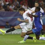 Champions League: Sevilla en partido de ida vence por 2-1 al Leicester