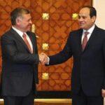 Al Sisi y rey jordano muestran su apoyo a la solución de los dos estados